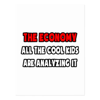 Funny Economist Shirts and Gifts Postcard