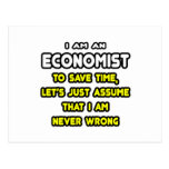 Funny Economist T-Shirts and Gifts Postcard