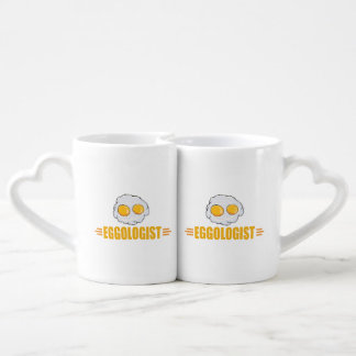 Funny Egg Lover's Coffee Mug Set