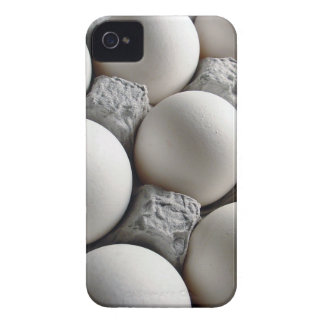 Funny Eggs in a Carton Printed iPhone 4 Case