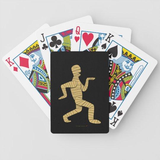 Funny Egyptian Mummy Walking Custom Playing Cards