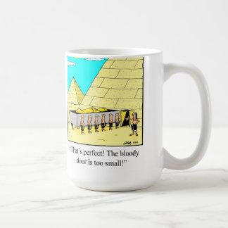 Funny Egyptian Pyramid Mug