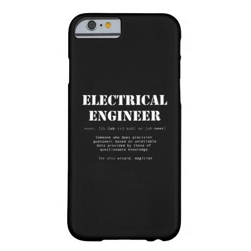 Funny Electrical Engineer Definition Gift Barely There iPhone 6 Case