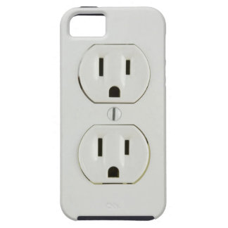 Funny Electrical Outlet iPhone 5 Case