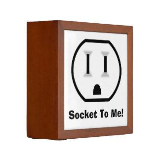 Funny Electrical Outlet Desk Organizer