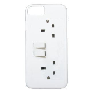 Funny Electrical Outlet from UK On iPhone 7 case