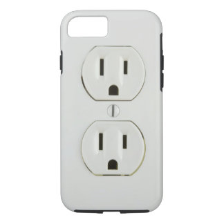 Funny Electrical Outlet iPhone 8/7 Case