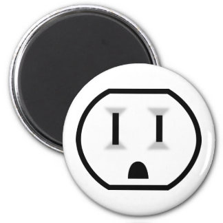 Funny Electrical Outlet Magnet