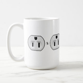 Funny Electrical Outlet Mug | Electrician Gift