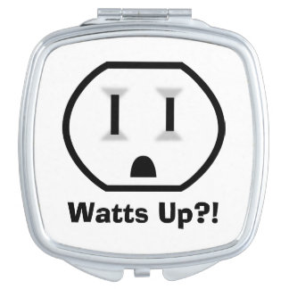 Funny Electrical Outlet Makeup Mirrors