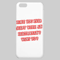 Funny Electrician Pick-Up Line iPhone 5C Covers