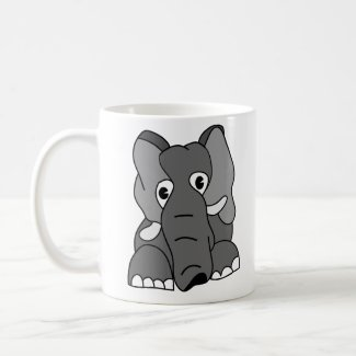 Funny Elephant Coffee Mug