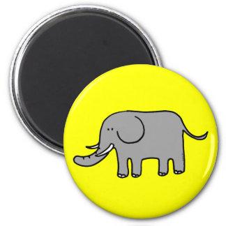 Funny elephant magnet