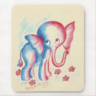 Funny Elephant Mouse Pad