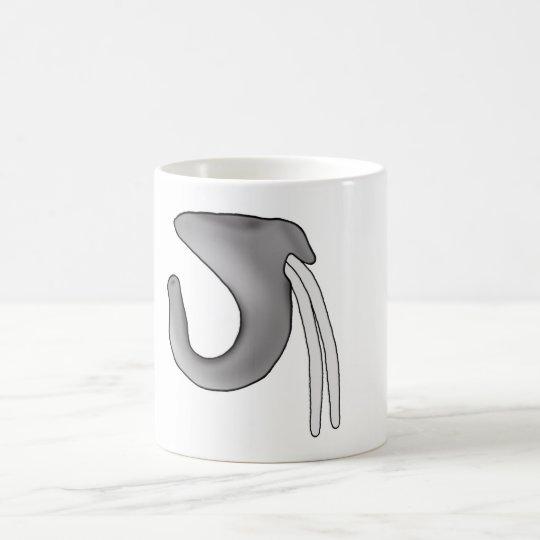 Funny Elephant Nose Mug
