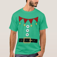 Funny Elf Costume Shirt