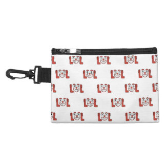 Funny Emoji Laughing Out Loud Pattern Accessory Bag