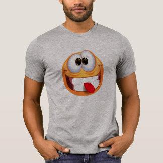 Funny Emoticon Face Tongue T-shirt