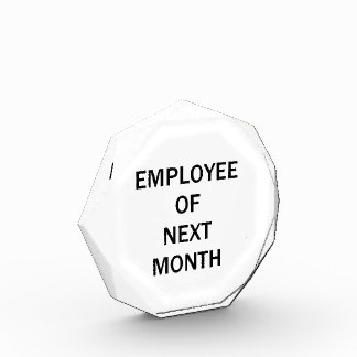 Funny Employee of Next Month Award
