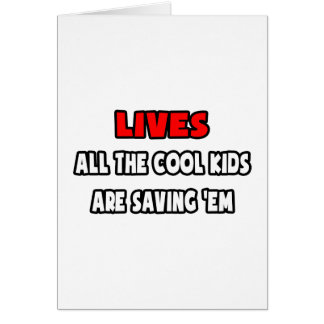 Funny EMT Shirts and Gifts Greeting Cards