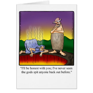 Funny Encouragement Humor Greeting Card