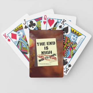 Funny End of the World Playing Cards