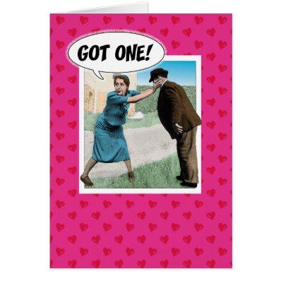 Funny engagement congratulations card