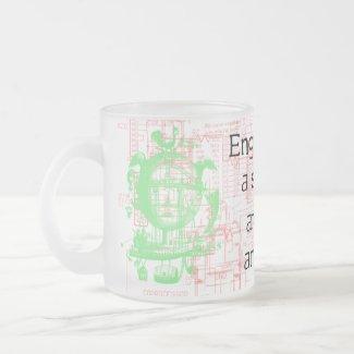 Funny Engineer Quote Mug mug