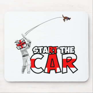 Funny England cricket Mouse Pad