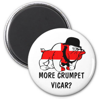 Funny English 2 Inch Round Magnet