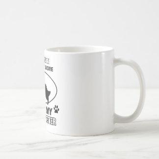 Funny english setter designs coffee mug