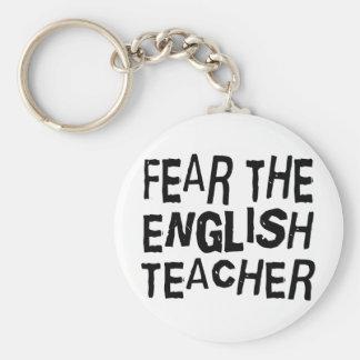 Funny English Teacher Keychain