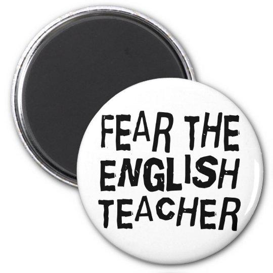 Funny English Teacher Magnet