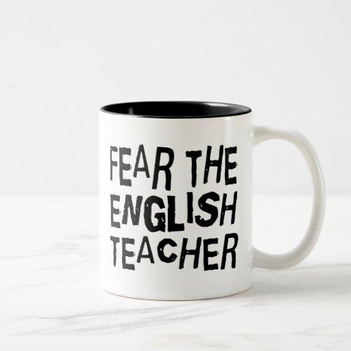 Funny English Teacher Coffee Mug