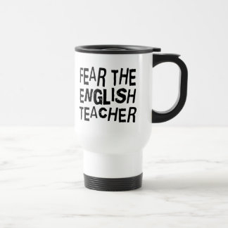 Funny English Teacher Travel Mug