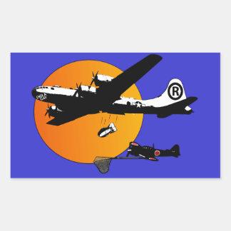 Funny Enola Gay Rectangular Sticker