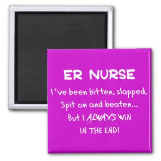 Funny ER Nurse Gifts Magnet