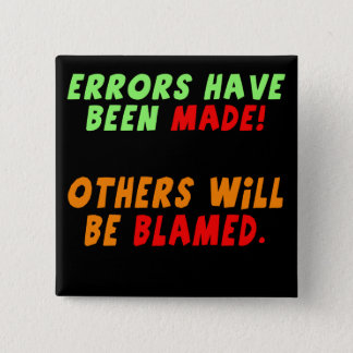 Funny Errors Made T-shirts Gifts Button