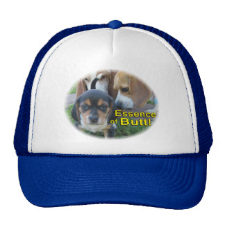 Funny Essence of Butt Beagle Puppy Hat
