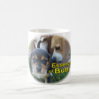 Funny Essence of Butt Puppy Dog Mug