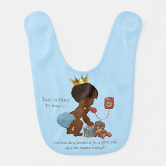 Funny Ethnic Leaving Home if You Give Me Carrots Bib