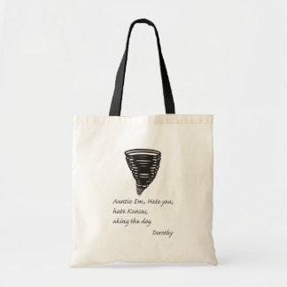 Funny - Even Dorthy Hates Kansas Canvas Bag