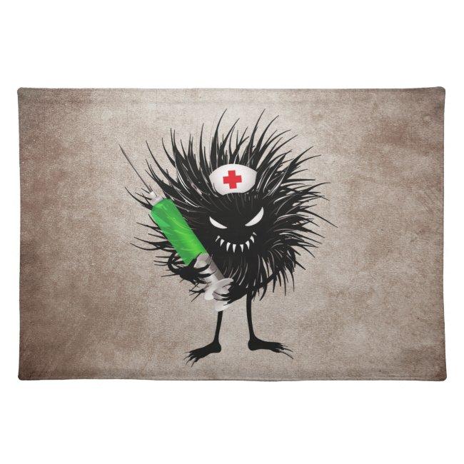 Funny Evil Bug Nurse With Syringe Gothic