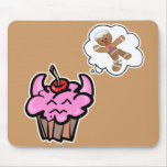 Funny Evil Cookie Killer Cupcake Mouse Mats