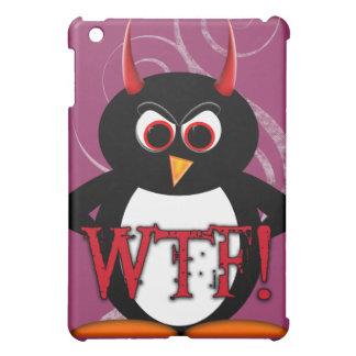 Funny Evil Penguin™ iPad cover