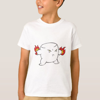 funny evil roasted marshmallow T-Shirt