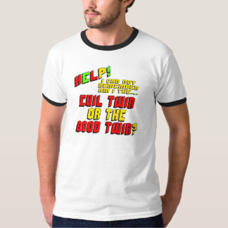 Funny Evil Twin T-shirts Gifts