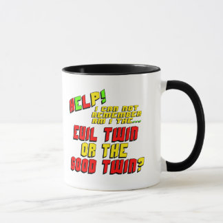Funny Evil Twin T-shirts Gifts Mug
