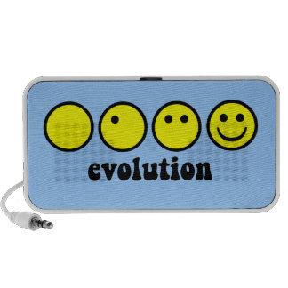 funny evolution iPhone speaker