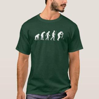 Funny Evolution of Cricket T-Shirt
